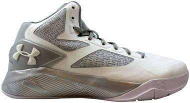 Under Armour Clutchfit Drive 2 - white/metallic silver/white (1276456106)
