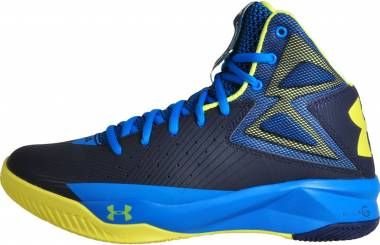 Under Armour Rocket - Midnight Navy/Electric Blue/Yellow Ray