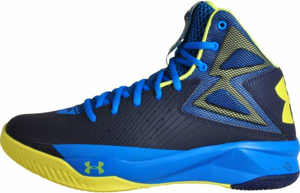 Under Armour Rocket - Midnight Navy Electric Blue Yellow Ray (1264224410)