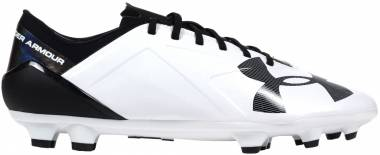 Under Armour Spotlight BL Firm Ground - weiss (1272300100)