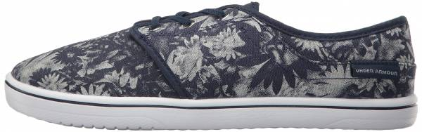 Under Armour Street Encounter Floral Gray Wolf/Midnight Navy/White