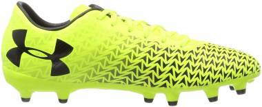 Under Armour ClutchFit Force 3.0 Firm Ground - Giallo High Vis Yellow