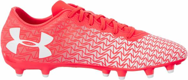 Under Armour ClutchFit Force 3.0 Firm Ground - Red Neon Coral 611 (1278819611)