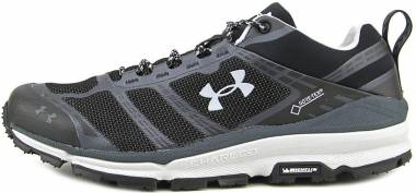 Under Armour Verge Low GTX - Black / Stealth Gray / Elemental (1268851002)