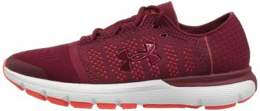 Under Armour SpeedForm Gemini Vent - Cardinal (600)/Neon Coral (3020661600)