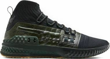 Under Armour Project Rock 1 - Black/Green/Gum (3020788002)