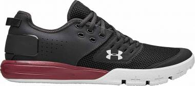 Under Armour Charged Ultimate 3.0 - Jet Gray/Aruba Red