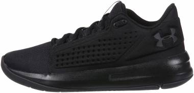 Under Armour Torch Low - Black/Black