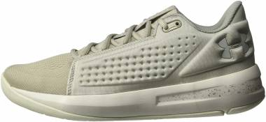 low priced 5f2a6 46555 Under Armour Torch Low Ghost Gray (100) White Men