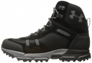 Under Armour Post Canyon Mid Waterproof - Black/Black