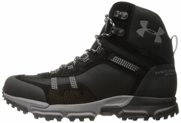 Under Armour Post Canyon Mid Waterproof - Black/Black (1299195001)