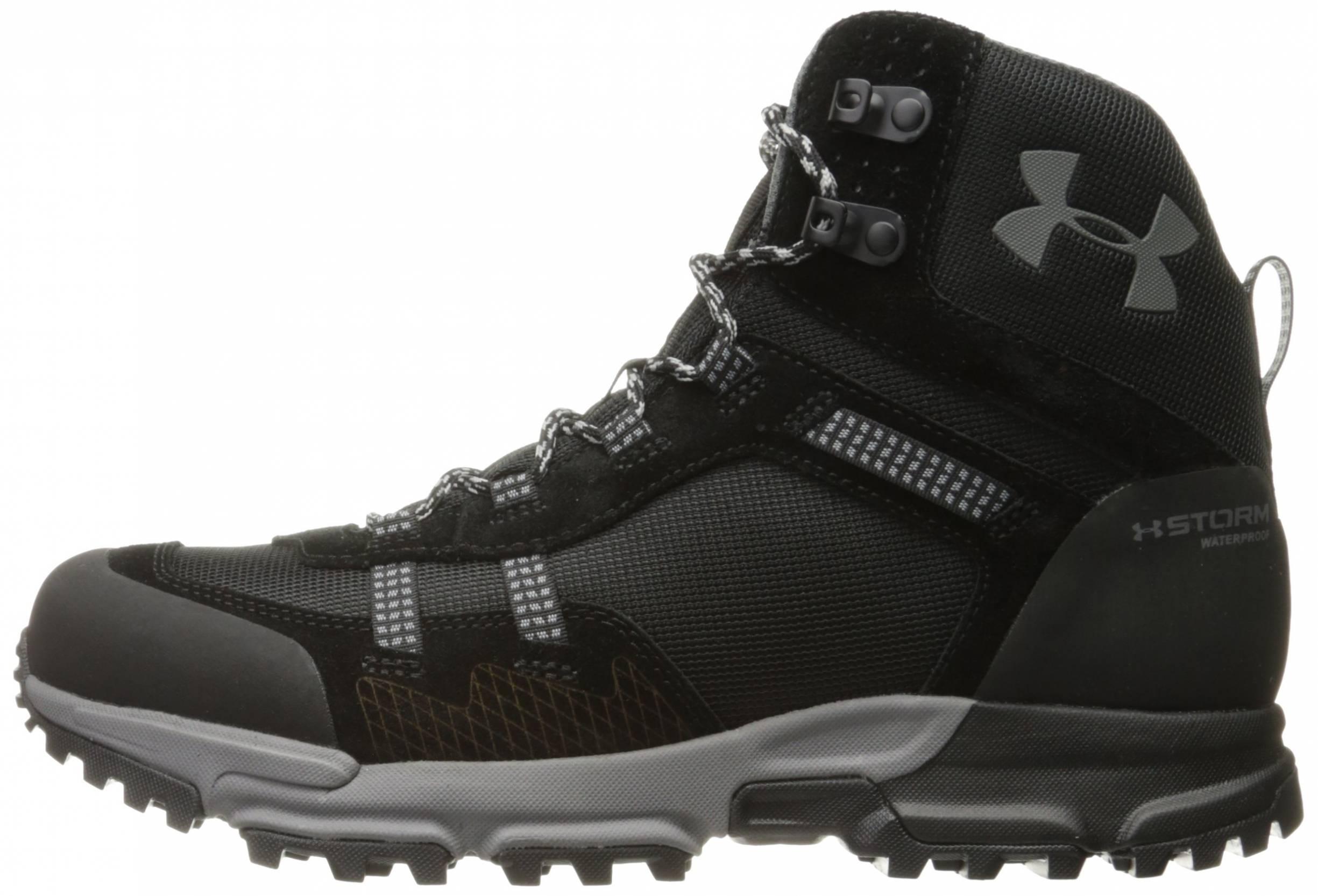 under armour men's brower mid waterproof hiking boot