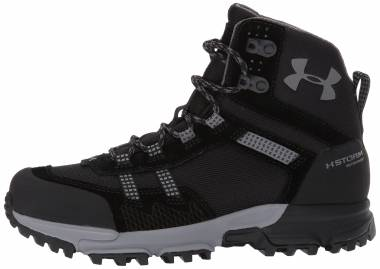 Under Armour Post Canyon Mid Waterproof - Black (001)/Black (1299203001)