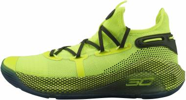 Under Armour Curry 6 Yellow Men