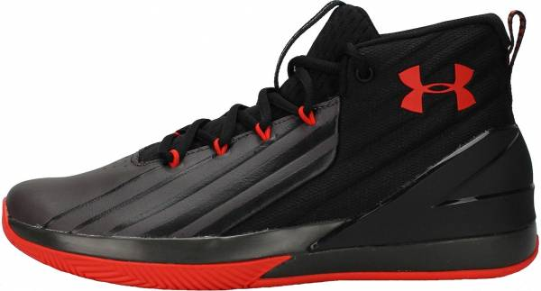 Under Armour Lockdown 3 - Negro Black Charcoal Radio Red (3020622002)