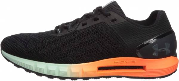 Under Armour HOVR Sonic 2 - Black (Black/Orange Glitch/Jet Gray (001)
