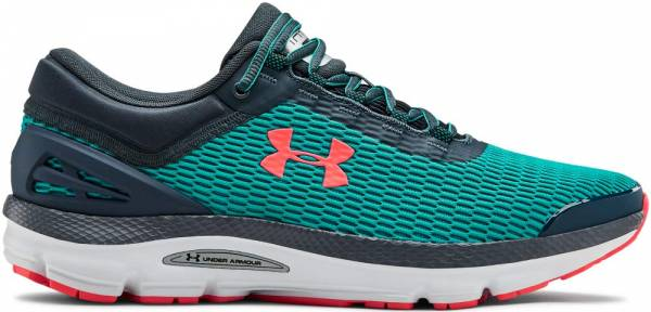Under Armour Charged Intake 3 - Green (Teal Rush/Halo Gray/Beta Red (300) 300)