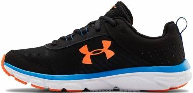 Under Armour Charged Assert 8 - Black (002)/Orange Spark (3021952003)