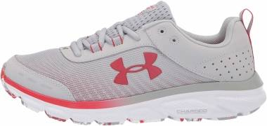 Under Armour Charged Assert 8 - Mod Gray (100)/White (3024622100)