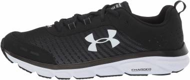 Under Armour Charged Assert 8 - Black White White 001 (302197201)