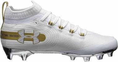 Under Armour Spotlight MC - White (101)/Metallic Gold (3020675101)