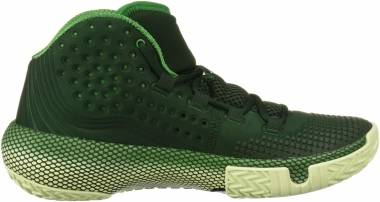 Under Armour HOVR Havoc 2 - Vert Forêt 300 Vert Phosphore