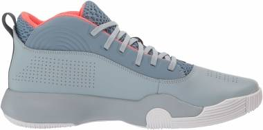 Under Armour Lockdown 4 - Ash Gray (400)/Harbor Blue (302205240)