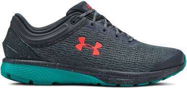 Under Armour Charged Escape 3  - Grey Wire Teal Rush Beta Red 401