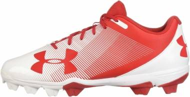 Under Armour Leadoff Low RM - Red (611)/White