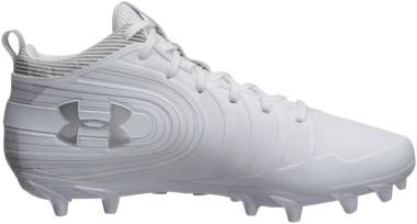 Under Armour Nitro Mid MC - White (100)/Metallic Silver (3000181100)