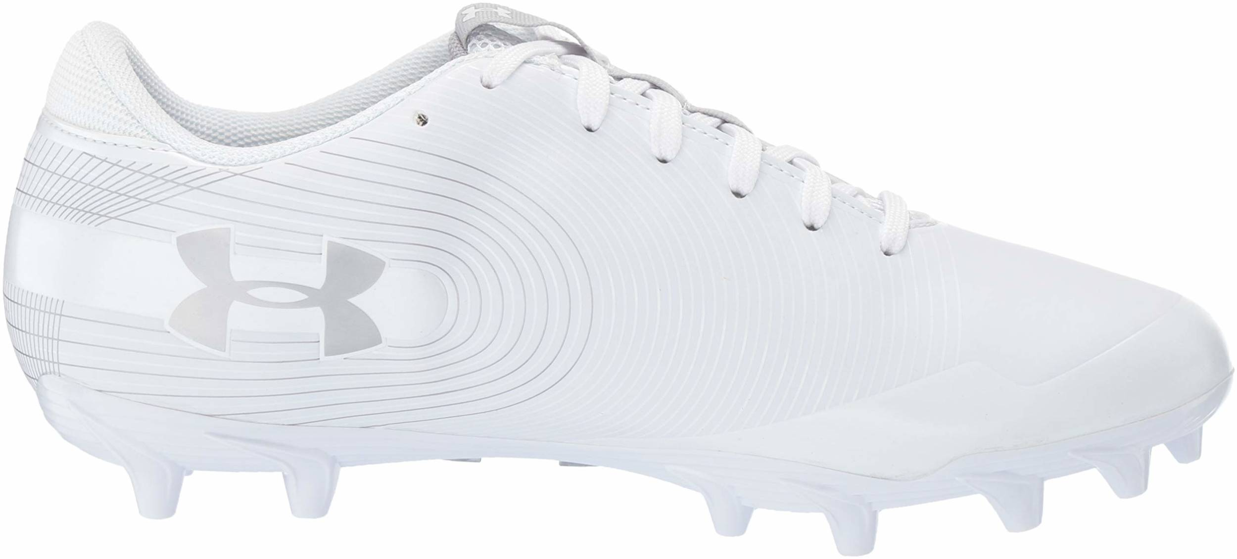 Save 16 On White Under Armour Football Cleats 4 Models In Stock Runrepeat