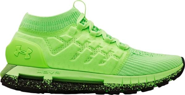 neon green under armour shoes