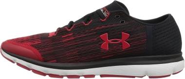 Under Armour SpeedForm Velociti Graphic - Mehrfarbig Black Red 001 (1298572600)