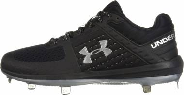 Under Armour Yard Low ST - Black (002)/Metallic Silver (302171102)