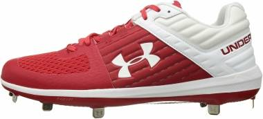 Under Armour Yard Low ST - Red (601)/White