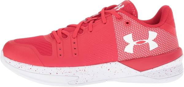 red white blue under armour shoes