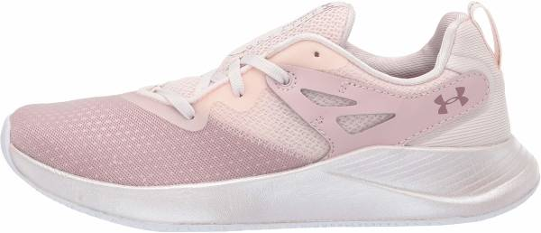 Under Armour Charged Breathe TR 2 - Grey French Gray Dash Pink Hushed Pink (3022617604)