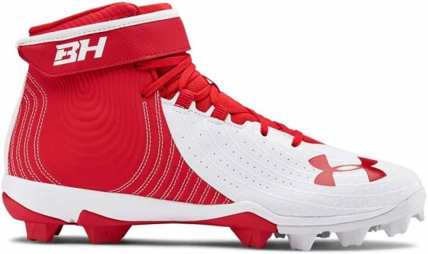 Under Armour Harper 4 Mid RM - Red (600)/White