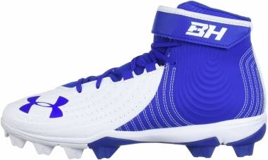 Under Armour Harper 4 Mid RM - Royal (400)/White (302206140)
