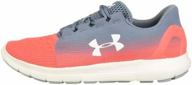 Under Armour Remix 2.0 - Ash Gray (401)/Beta Red (3022466401)