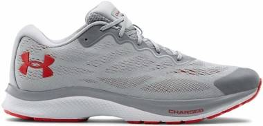 Under Armour Charged Bandit 6 - Mod Gray (104)/White (3023019104)