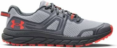 Under Armour Charged Toccoa 3 - Mod Gray/Venom Red (3023370102)