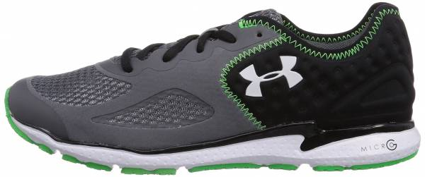 Under Armour Micro G Mantis II Gray - Grau (Graphite/Black/White 040)