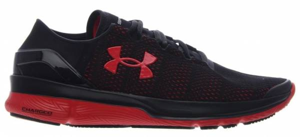 Under Armour SpeedForm Apollo 2 men black/black/rocket red