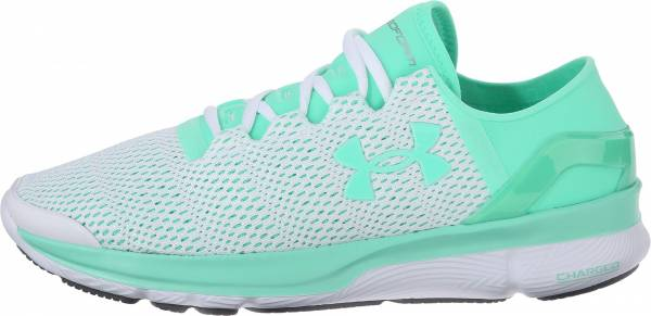 Under Armour SpeedForm Apollo 2 woman white/antifreeze/antifreeze