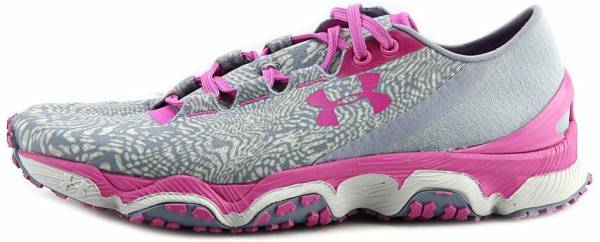 wholesale dealer 2358f 23d1a Under Armour SpeedForm XC Pink Gray White