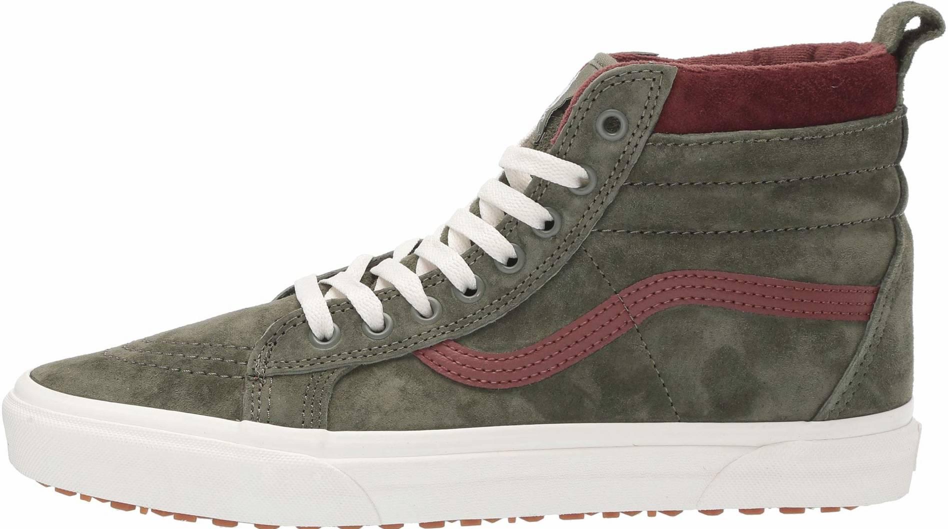 Save 17% on Green Vans Sneakers (22