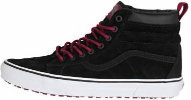 Vans SK8-Hi MTE Black/Beet Red Men