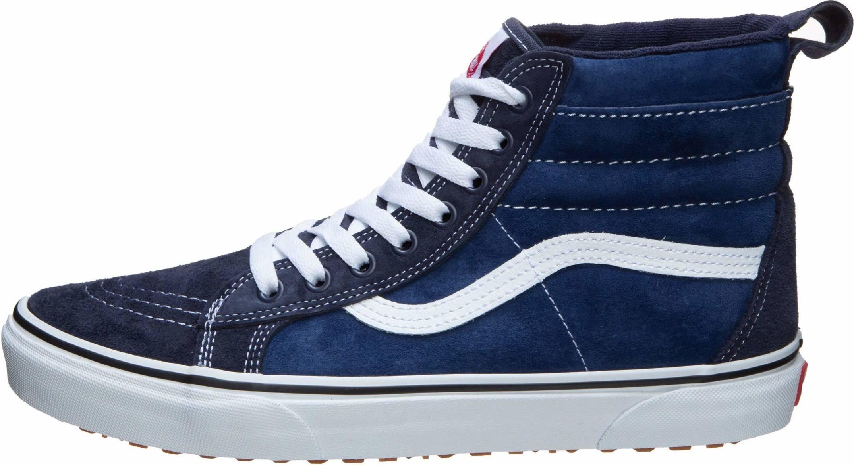 vans blue leather