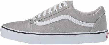 Vans Old Skool - Silver/True White